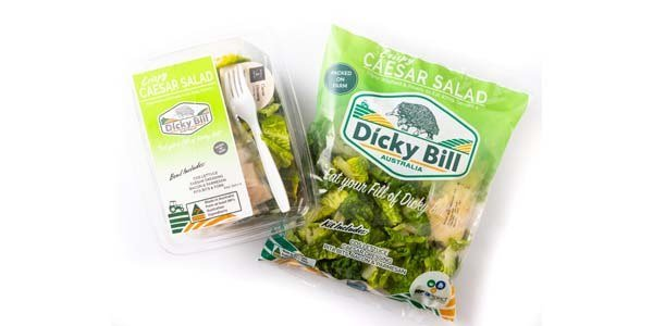 Crispy Caesar Salad Packaging