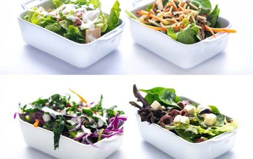 Salad Kits and Bowls
