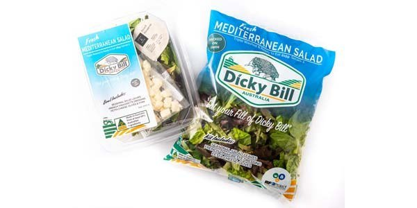Fresh Mediterranean Salad Packaging