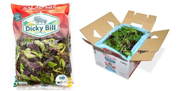 Mesclun Bag and Box