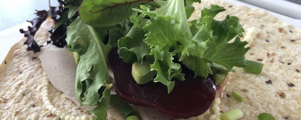 Mesclun Salad Roll